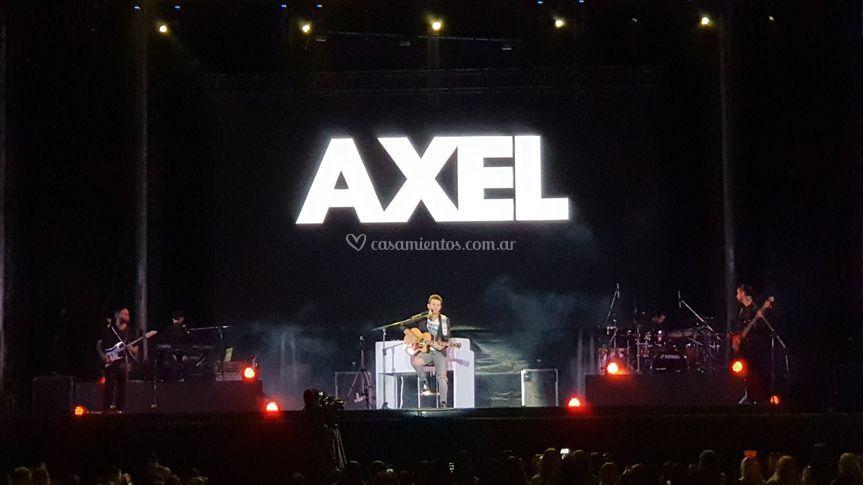 Axel en vivo