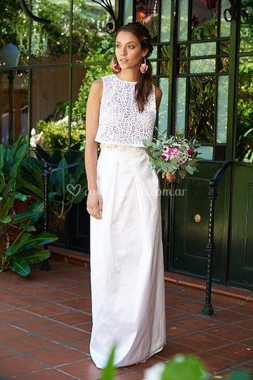 Top y falda Magnolia