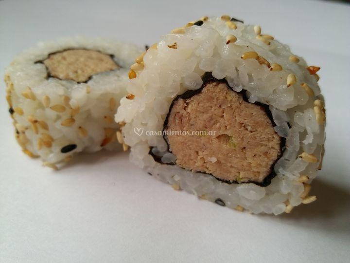Roll atún