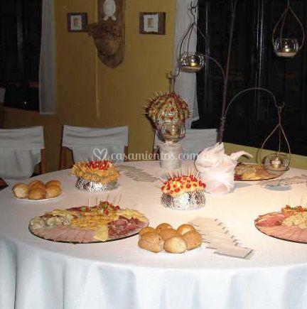 Parte del banquete