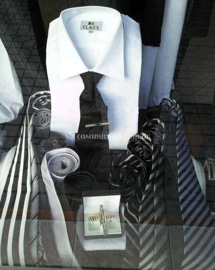 Corbatas y complementos