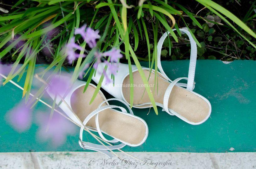 Detalles de zapatos