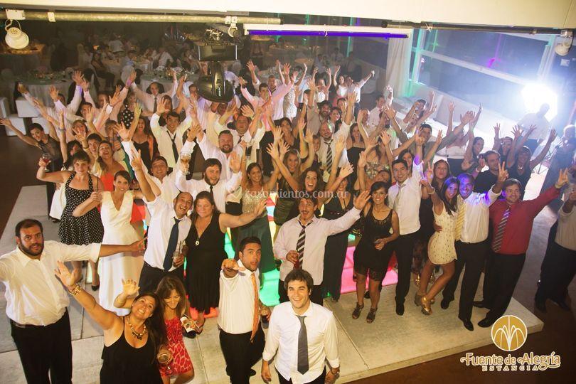 La mejor fiesta de sus vidas