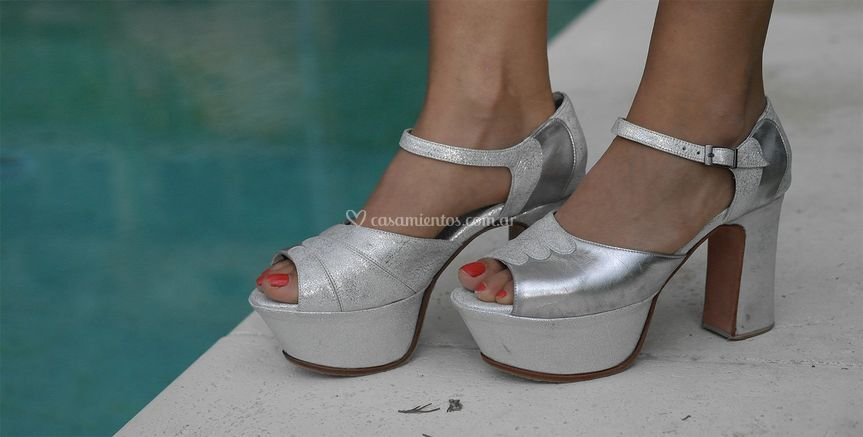 Sandalia Silver