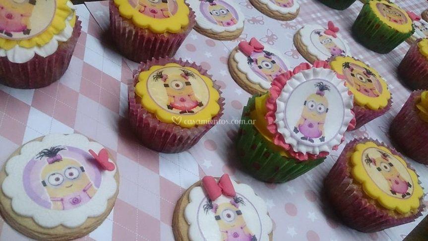 Cupcakes y cookies