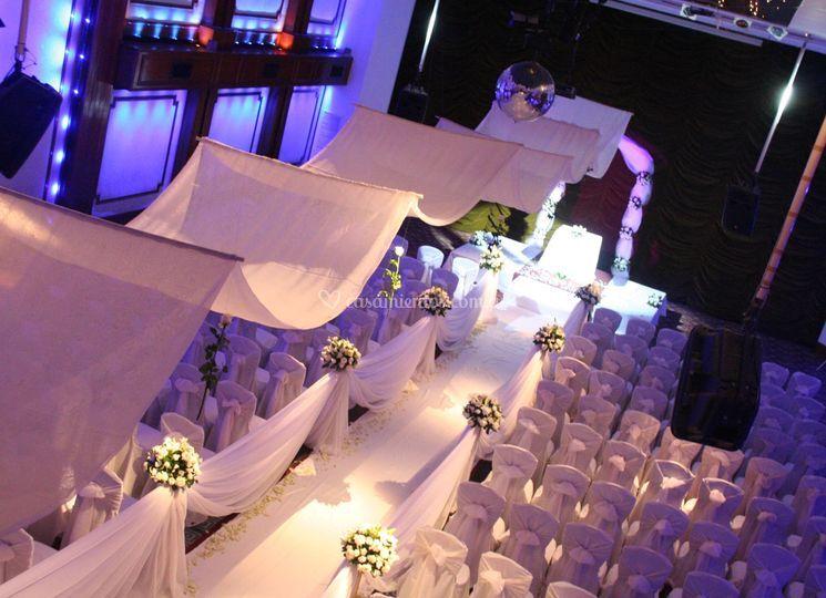 Ceremonia salón real