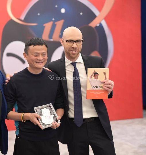 Con Jack Ma en Shangai