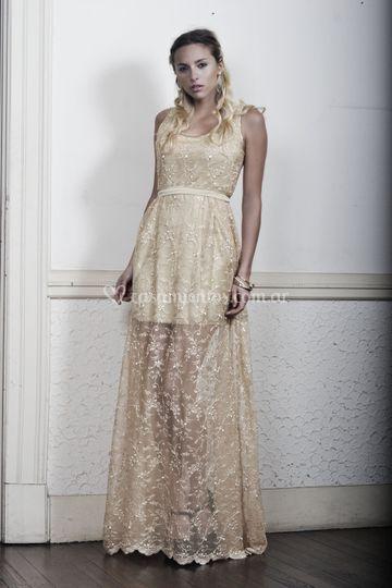 Vestido golden