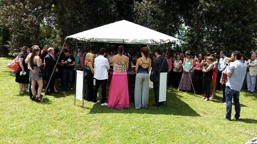 Ceremonias en exterior