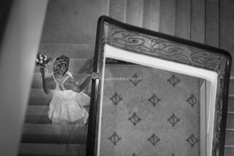 Preparación de la novia de Imágenes Creativas