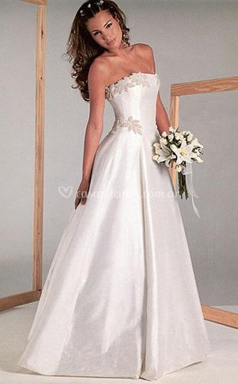 Vestidos sencillos y muy elegantes