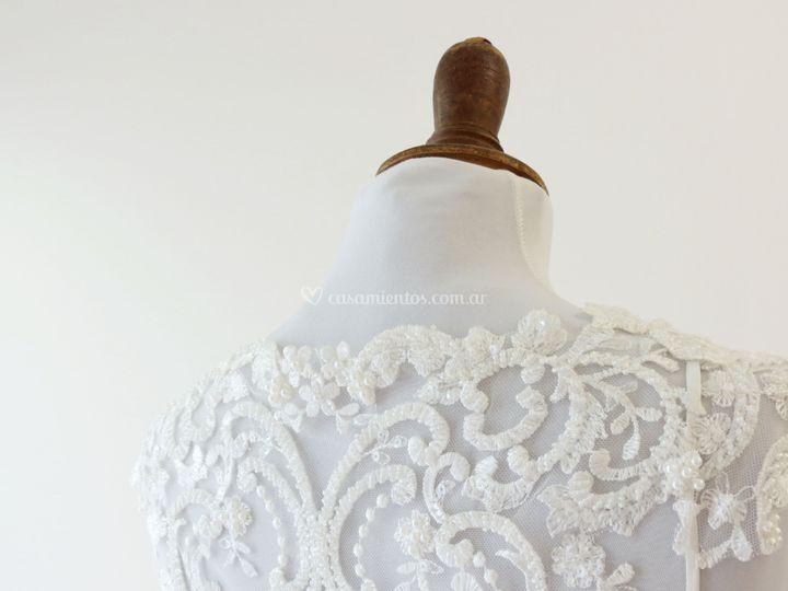 El vestido bordado de Lula