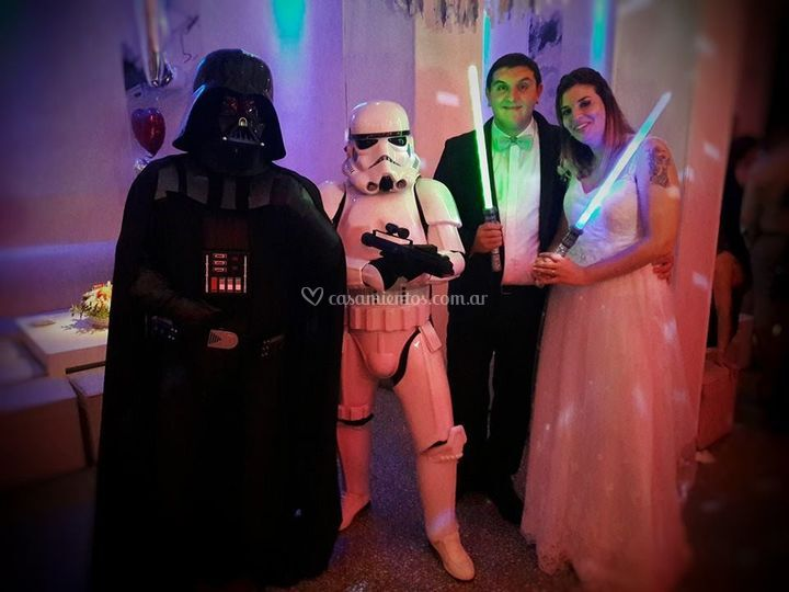 Casamiento Star Wars