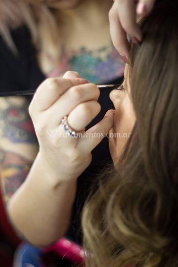 Pruebas de maquillaje