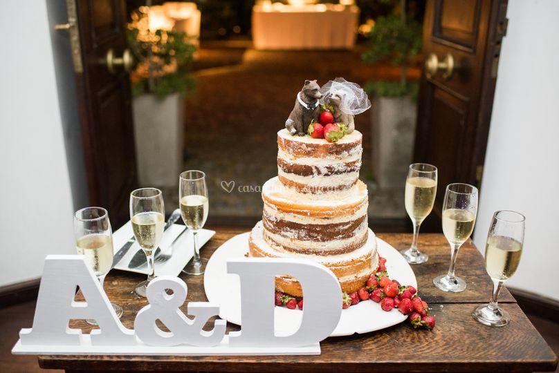 Torta de casamiento