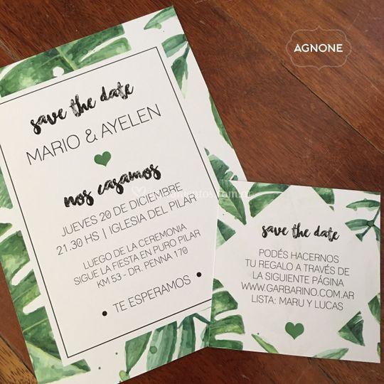 Invitación Amazonas