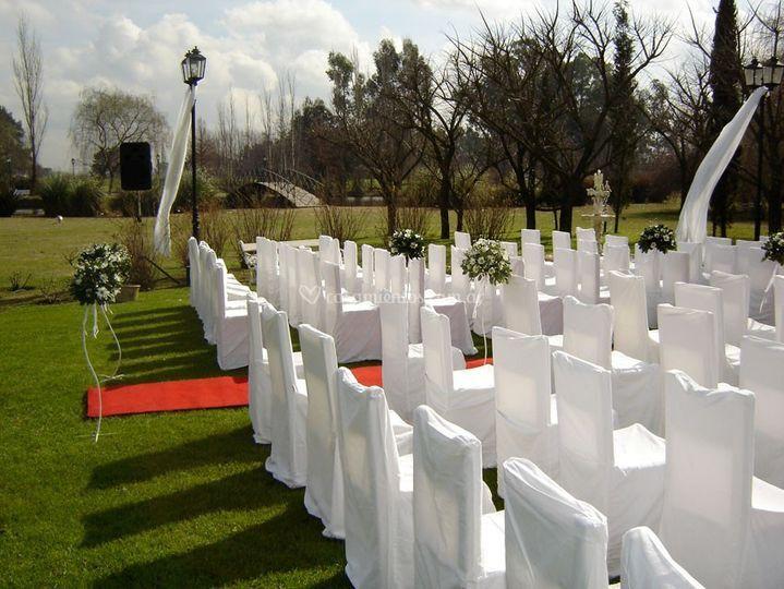 Ceremonia frente a Oratorio