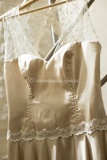 Frente vestido de novia