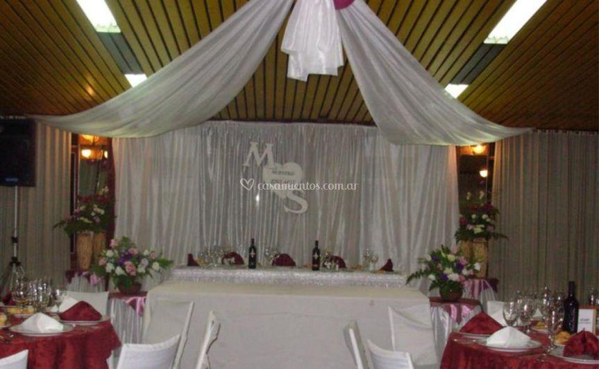 Decoraci n de casamiento de eventos espumas partys fotos - Decoracion para foto ...