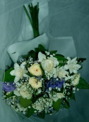 Bouquets de novia coloridos