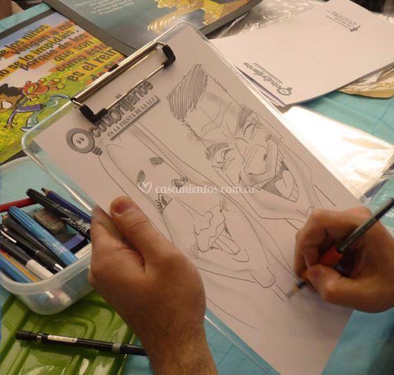 Joel M. Parker - Caricaturas