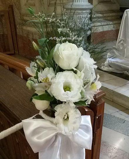 Bouquet: bancos de pasillo