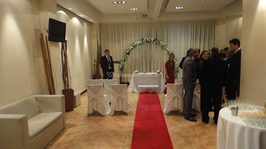 Ceremonias en recepcion