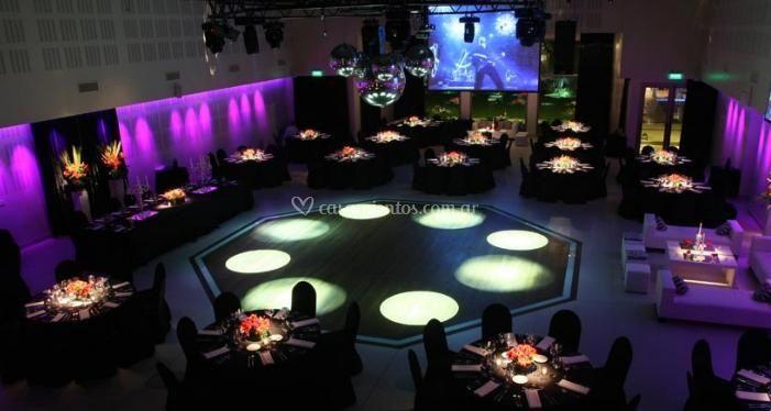Salón del banquete