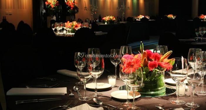 Distintos montajes del banquete