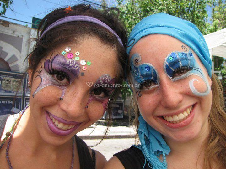 La Flor Azul Maquillaje Artístico