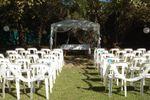 Altar para ceremonia de Quinta La Aparecida