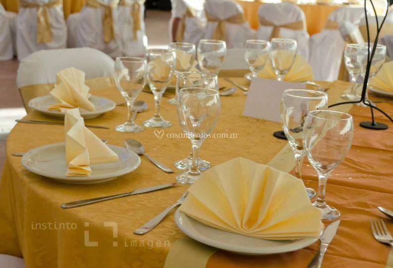 Las mesas principales