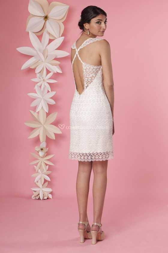 Magnífico Novias Vestido Ideas Ornamento Elaboración Festooning ...