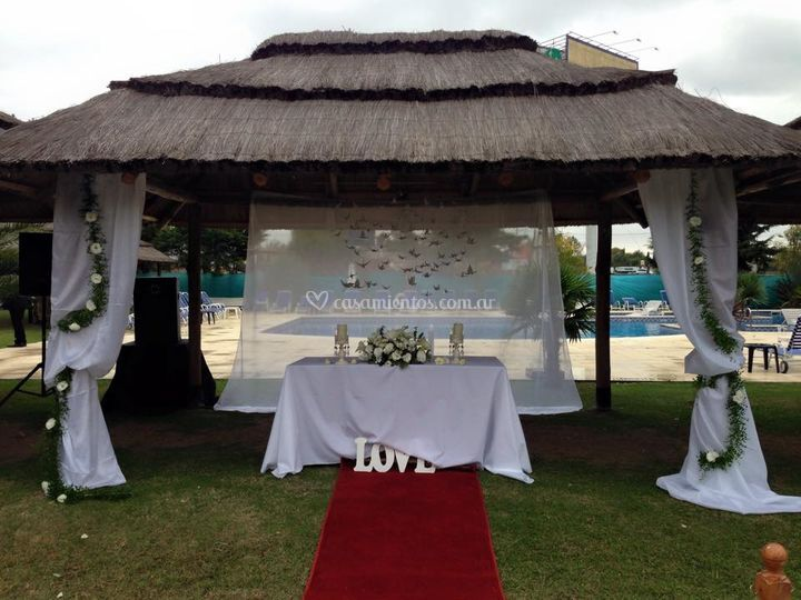 Altar para ceremonia