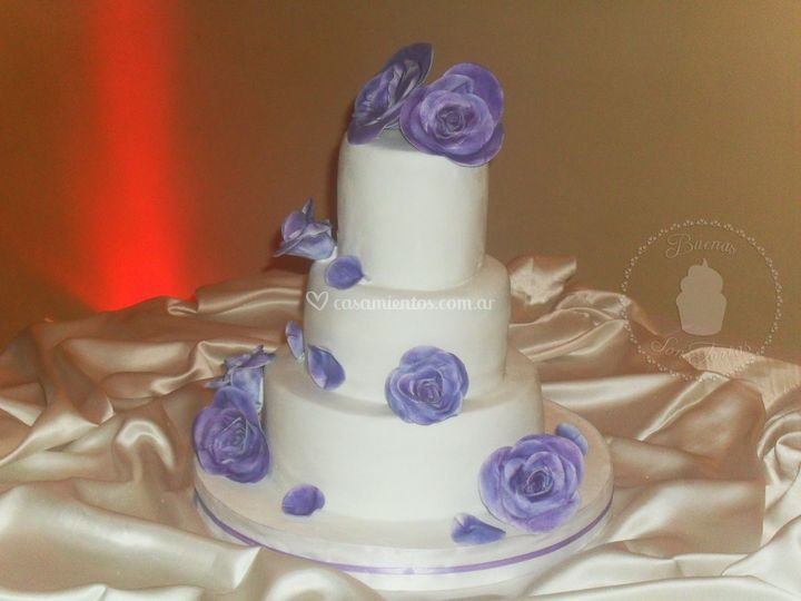 Torta de bodas Violeta