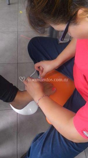 Preparacion pies