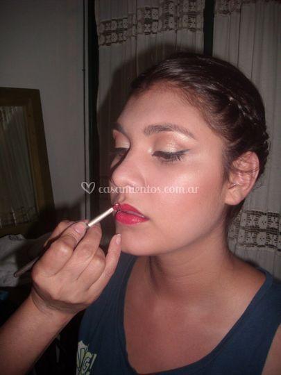 Detalles maquillaje