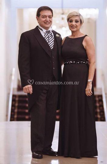 La elegancia del negro