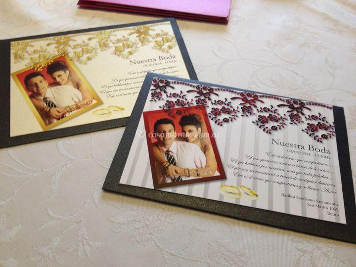 Tarjetones con foto