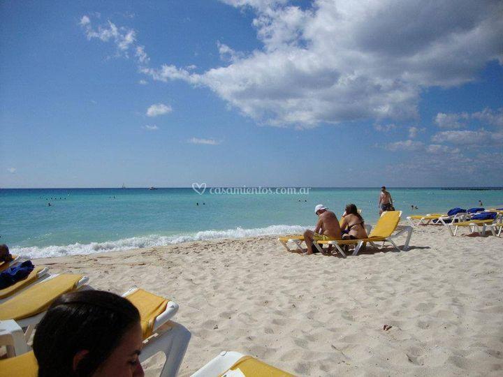 Playas excelentes