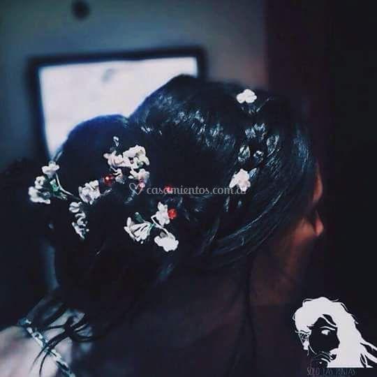 Peinado de casamiento