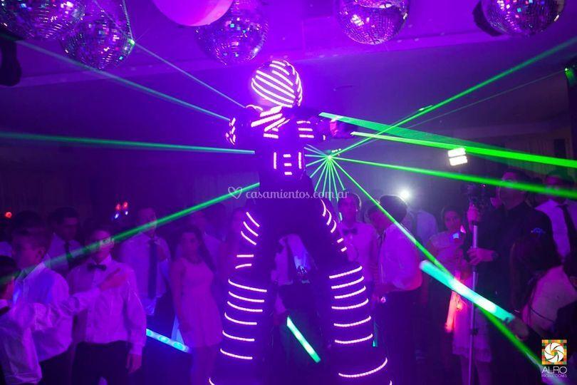 Robot de led
