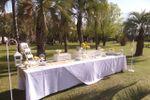Mesa de exposici�n de dulces de Quinta JR Ranch