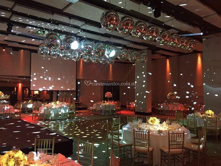 Interior iluminado