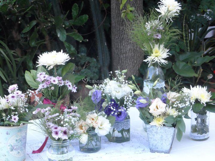 Composición campestre de Style Flowers