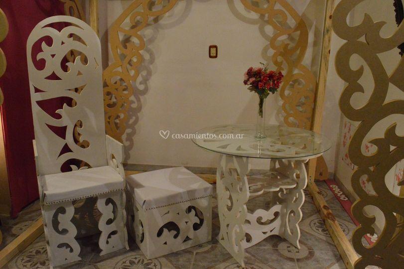 Puf palacio design & arte