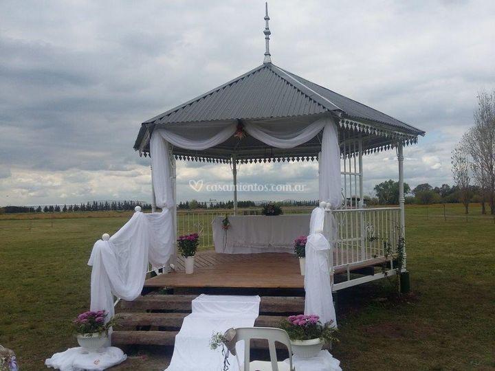 Altar de ceremonias