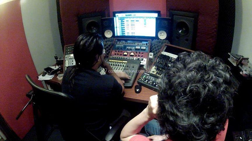 Rodaje en estudio