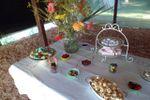 Carpa con mesa dulce