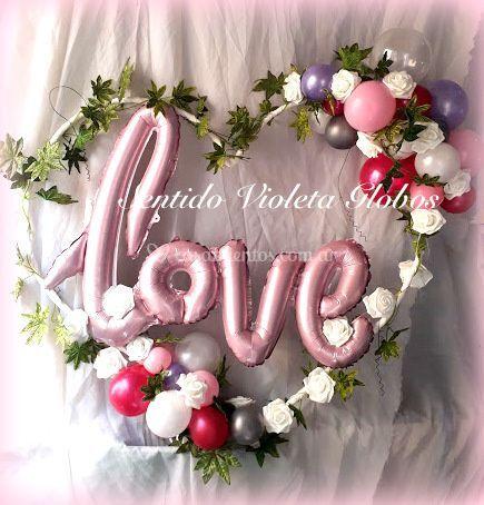 Corazón estilo romántico